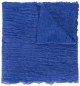 Faliero Sarti creased effect scarf