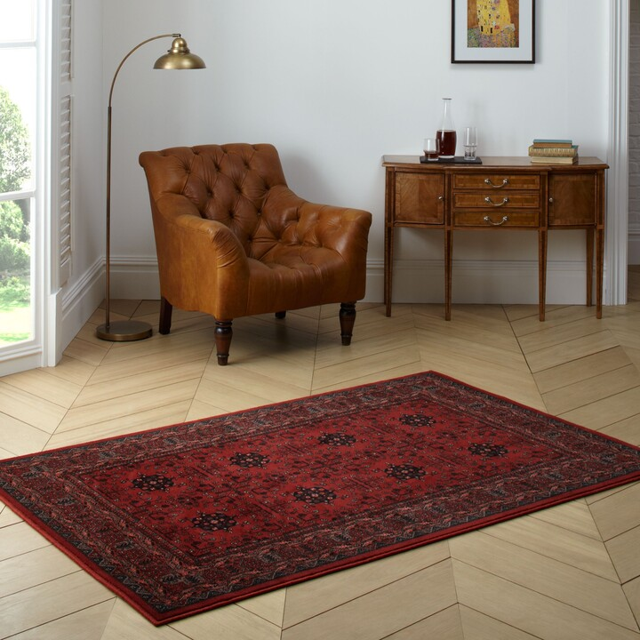 Thumbnail for your product : John Lewis & Partners Royal Heritage Herati Rug, Red, L240 x W160 cm