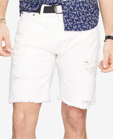 Denim & Supply Ralph Lauren Men's Straight-Fit Ripped Shorts