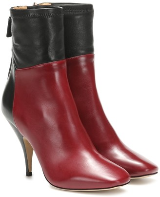 Petar Petrov Selma leather ankle boots