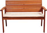 International Home Miami Holgate Eucalyptus 49 Patio Bench