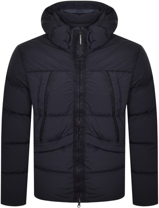 C.P. Company Hooded Padded Jacket Navy