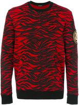 Balmain tiger print sweatshirt