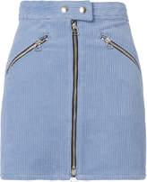 Rag & Bone Racer Cord Mini Skirt