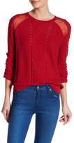 The Kooples Textured Knit Sweater