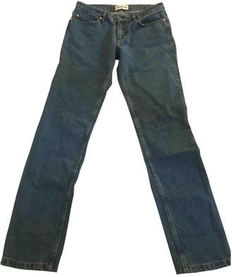 Etudes Studio Blue Cotton Jeans for Women
