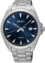 Seiko Men's Special Value Stainless Steel Bracelet Watch 42mm SUR207