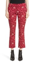 Alice + Olivia Women's Stacey Crop Flare Print Pants