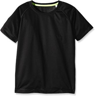 Stedman Apparel Boys' Active 140 Raglan Sports Shirt