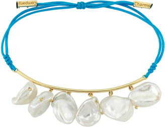 CHARMS COMPANY Pearls of Joy 14K Yellow-Gold String Bracelet
