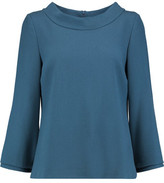 Goat Daphne Wool-Crepe Top