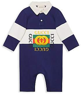 Gucci Baby Boy's Polo Playsuit