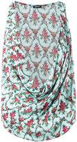 Jil Sander Navy floral print top