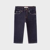 Paul Smith Baby Boys' Indigo Stretch-Denim Jeans