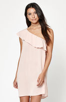 La Hearts One Shoulder Dress