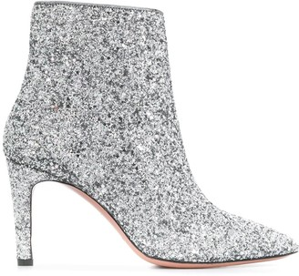 P.A.R.O.S.H. High Heeled Glitter Boots
