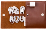 Bey-Berk Travel Charger Case and Accessories Pouch