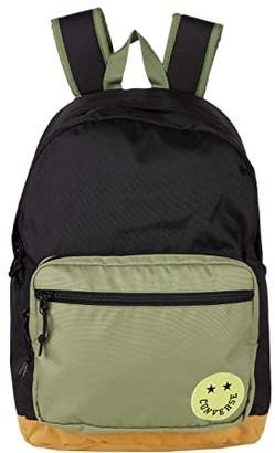 Converse Happy Camper Go 2 Backpack Black/Street Sage/Sob) Backpack Bags