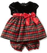 Jayne Copeland Baby Girls 12-24 Months Velvet-Bodice Plaid Dress
