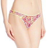 OnGossamer Women's Triple Mesh Hip G Thong Panty