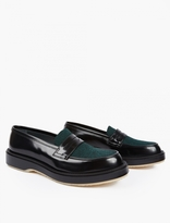Adieu Contrasting Panelled Type 5 Loafers
