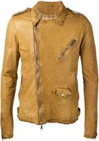 Giorgio Brato classic biker jacket - men - Leather - 46