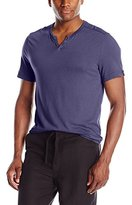 Kenneth Cole Reaction Men's Ss Stripe Henley