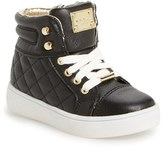 MICHAEL Michael Kors Girl's 'Ivy Cora' Quilted High Top Sneaker