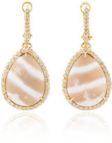 Kimberly Mcdonald diamond and stone drop earrings