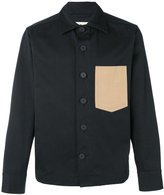 Marni patch pocket shirt jacket - men - Cotton - 48