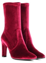 Stuart Weitzman Exclusive to mytheresa.com – Clinger velvet boots