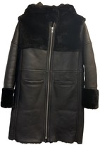 Maje Fall Winter 2019 Black Shearling Coats