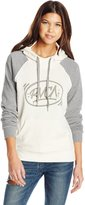 RVCA Junior's Barrio Fleece Pullover Hoodie