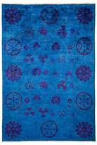 Solo Rugs Vibrance Collection Oriental Rug, 6' x 8'7""