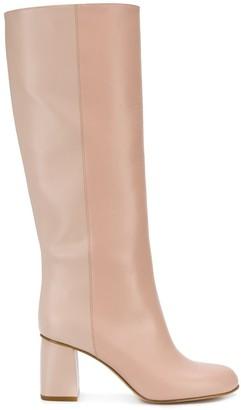 RED Valentino avired boots