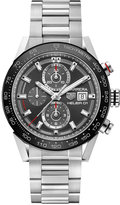 TAG Heuer Men's Swiss Automatic Chronograph Carrera Stainless Steel Bracelet Watch 43mm CAR201W.BA0714
