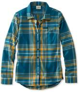L.L. Bean L.L.Bean Fall Flannel Shirt, Plaid