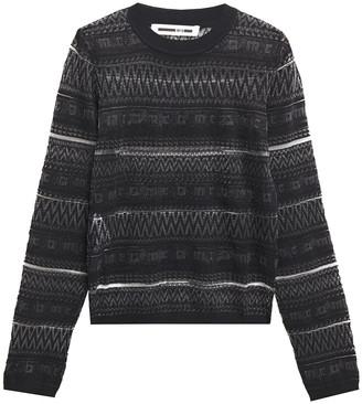 McQ Jacquard-knit Sweater