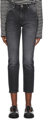 Ami Alexandre Mattiussi Black Classic Fit 5 Pockets Jeans