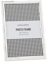 "David Jones Bamboo' Metal Photo Frame, 4 x 6""/ 10 x 15 cm"