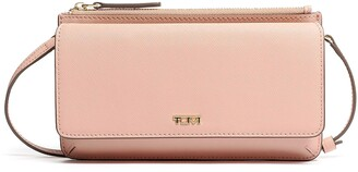 Tumi Leather Crossbody Wallet