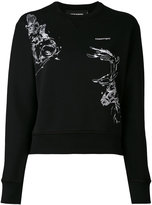 DSQUARED2 embroidered stag sweatshirt - women - Cotton - XS