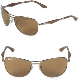 Ray-Ban 59MM Classic Polarized Aviator Sunglasses