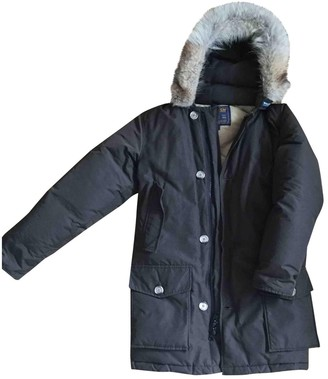 Woolrich Brown Polyester Coats
