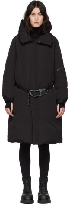Moncler Genius SSENSE Exclusive 6 1017 ALYX 9SM Black Down Parus Coat