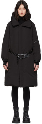 Moncler Genius SSENSE Exclusive 6 1017 ALYX 9SM Black Down Parus Coat