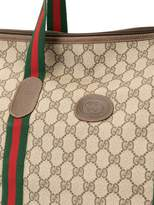 Gucci Pre Owned Shelly Line GG travel tote