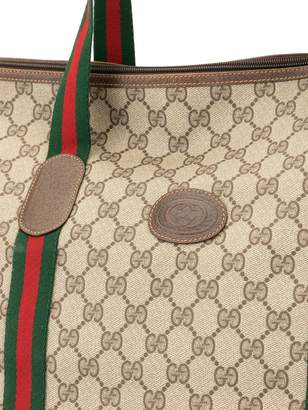 Gucci Pre-Owned Shelly Line GG travel tote