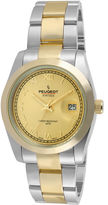 Peugeot Womens Two-Tone Stainless Steel Bracelet Watch
