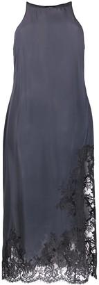 La Perla Floral Lace Trimmed Night Gown